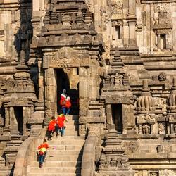 Schoolreisje Prambanan