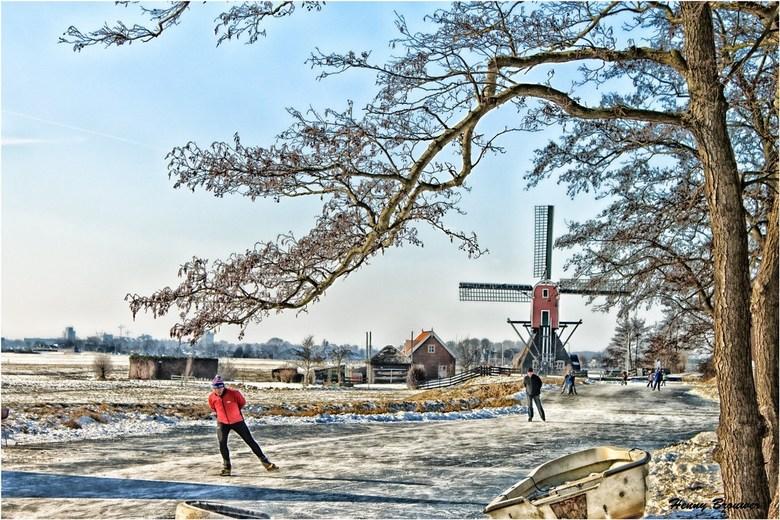 Hollands winterweer - Een mooie winterse dag in 2012.