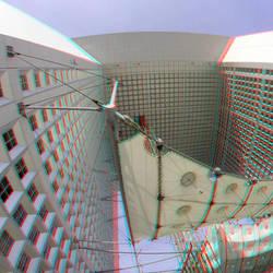 Grande Arche Paris 3D GoPro