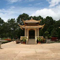Pagoda in Dalat