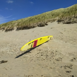 rescue surfboard @ texel
