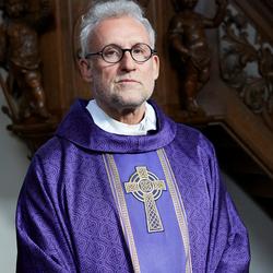 portret voorganger katholieke geloof