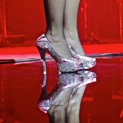 schoenen op het podium