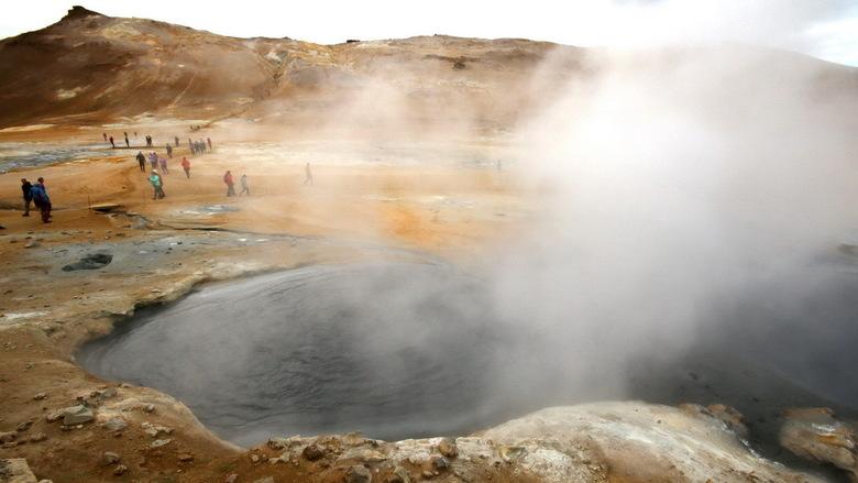 IJsland -25 - zwavelvelden bij Hverir