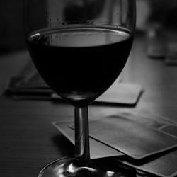Wijn en kaarten
