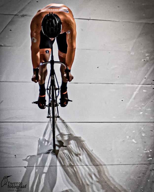 Trackcycling - Training van de nederlandse selectie baanwielrennen