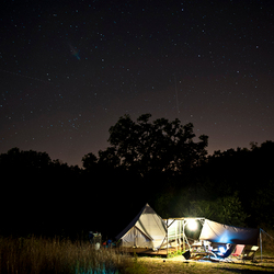 CAMPING IN THE NIGHT