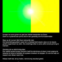 Gezond Zoomen !!!