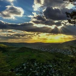 Uitzicht op Kröv
