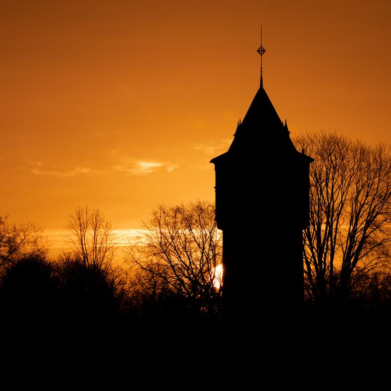 Watertower Sunrise -