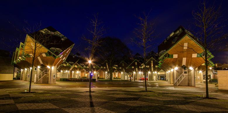 Helmond - Speelhuisplein - Kubus woningen - Helmond - Speelhuisplein - Kubus woningen