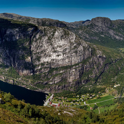Panorama Lysebotn