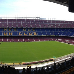 Panorama Camp Nou!
