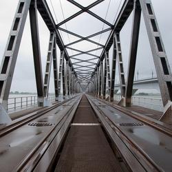 Oude spoorbrug Moerdijk