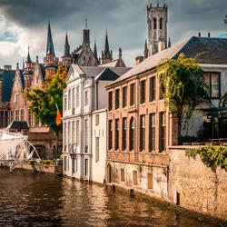 De torentjes van Brugge