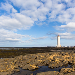 Lighthouse Akranes Iceland