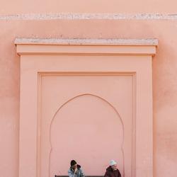 Rustige ochtend in Marrakech