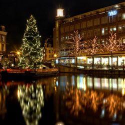 kerst weerspiegelingen