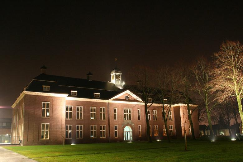 Oud schoolgebouw in Drachten -
