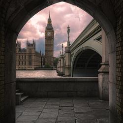 Across the river Thames
