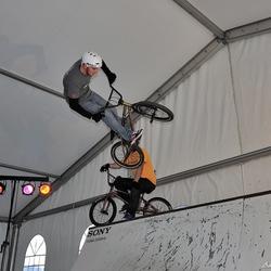 Fiets acrobaten