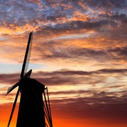 Splendid sunset