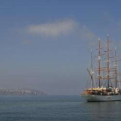 Boottocht Santorini