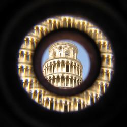 Pisa, de scheve toren net even anders