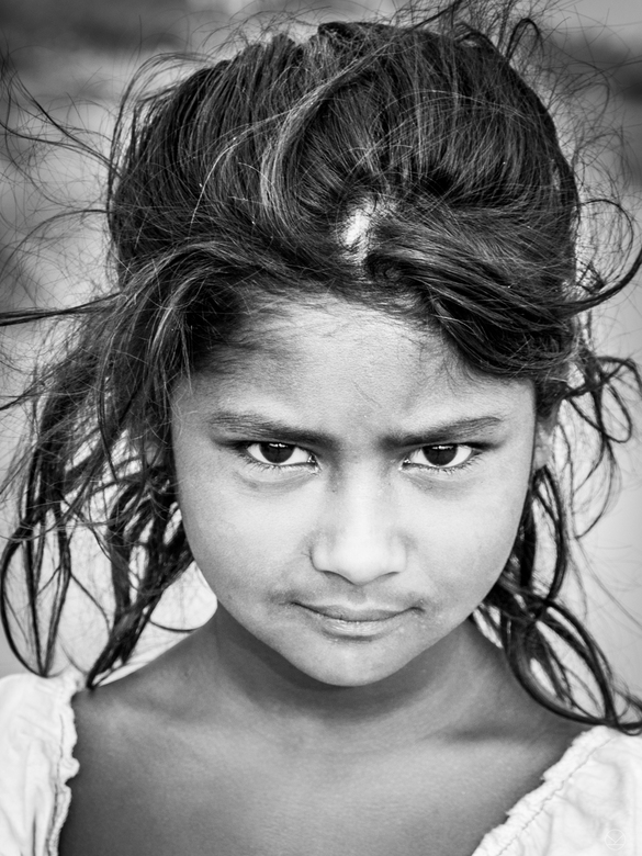 the eyes are the mirror of the soul - India