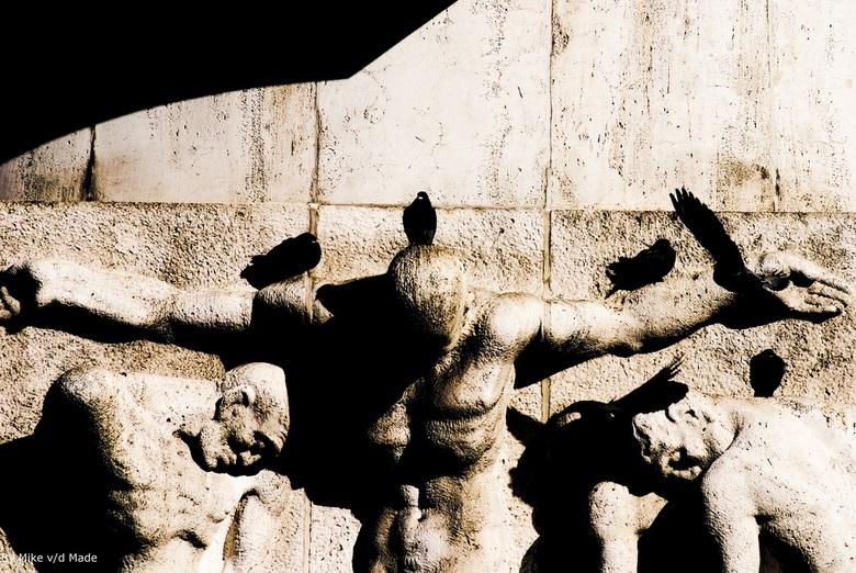 Monument De Dam - Monument op de dam.