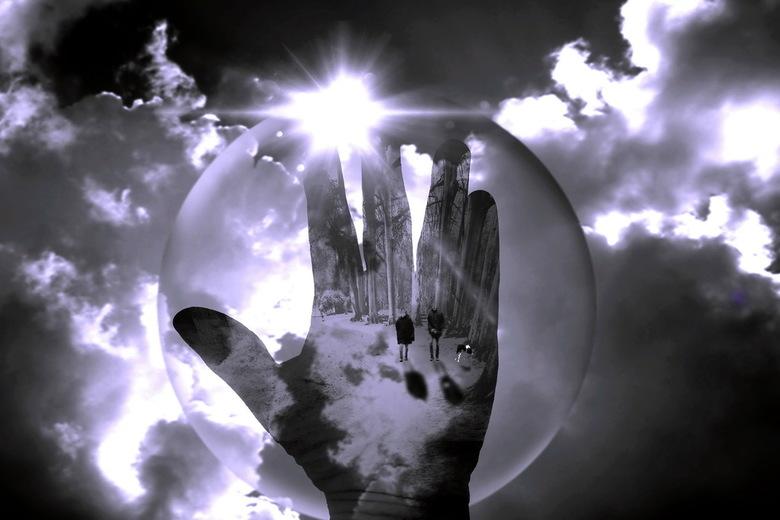 A walk in the bubble -