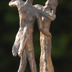 Eigen werk in brons