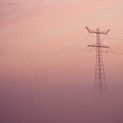 HS mast in de mist