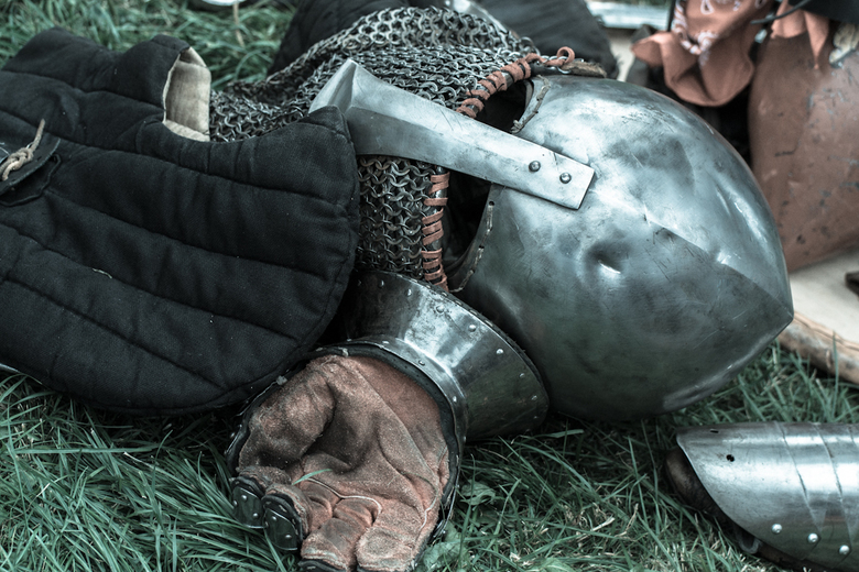 Rake Klappen - After the match<br /> Historical Medieval Battle Castlefest 2017