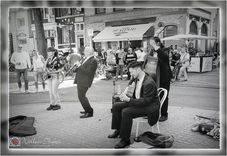 Straatmuzikanten -