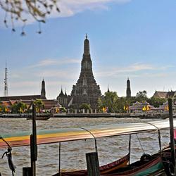 Uitzicht Wat Arun