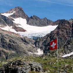 Berglandschap in zwitserland