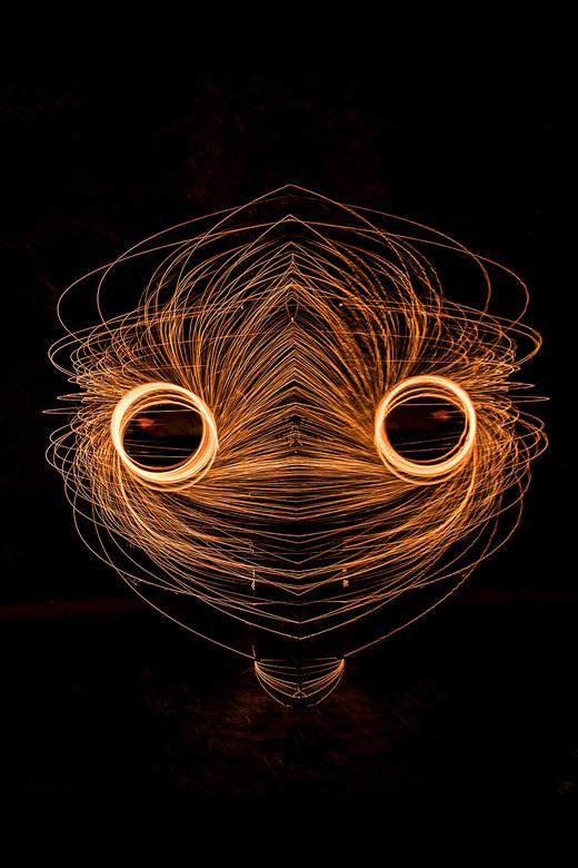 Staalwol spiegeling -
