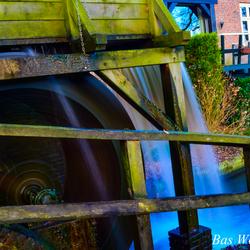 Waterrad Kasteel de Cannenburgh