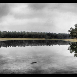 Panorama waterlandschap