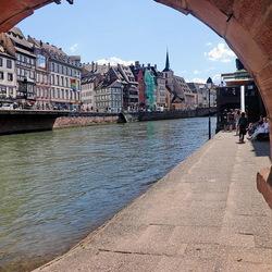 De oude binnenstad Straatsburg.