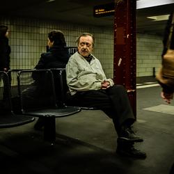 Der Mann in der U-Bahn