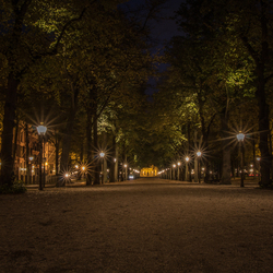 The Hague by Night, Lange Voorhout