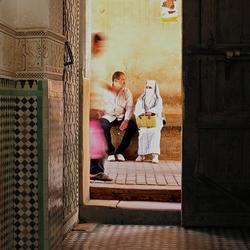 De medina in Marrakech