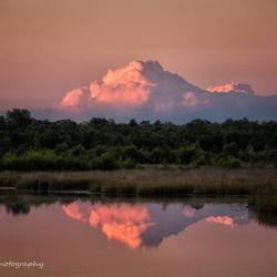 wolken als bergen