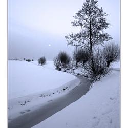 winter-avond-polder-tafereel