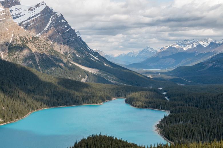 bergen en meren 3 - Bergen en gletcher meer