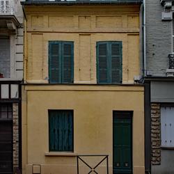 Geel huis, Deauville.