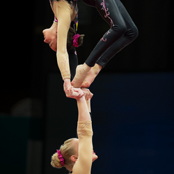 Wereldkampioenen Acrogym 2014
