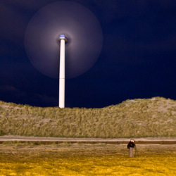 Windmolen op de Maasvlakte
